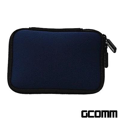 GCOMM 行動電源 隨身硬碟 增厚保護收納包 藏青藍