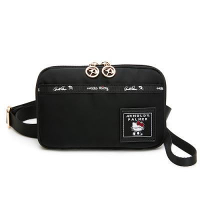 Hello Kitty聯名- 小萬用包附手挽帶及長背帶 JUMP系列-黑色