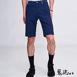 鬼洗 BLUE WAY 鬼著休閒袋蓋色短褲(藏青)