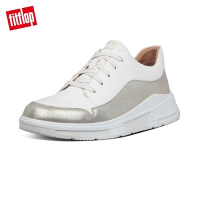 FitFlop FREYA SUEDE SNEAKERS休閒鞋-女(白色/灰色)