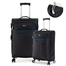 DF travel - 紀錄時光可充電可加大20+28吋防潑水布面行李箱