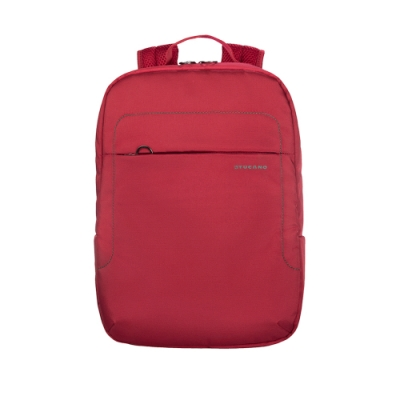 TUCANO LUP 簡約商務式後背包14吋-紅