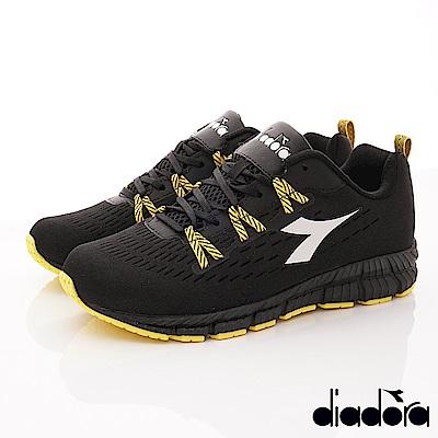 DIADORA-飛織超輕跑鞋款 SI620黑(男段)
