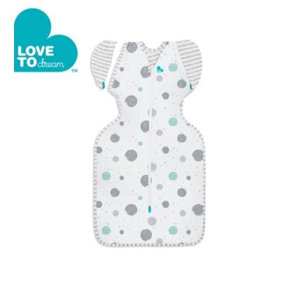 Love To Dream 第二階段(3個月~9個月)蝶型包巾(輕薄款)-白