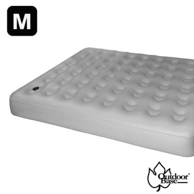 Outdoorbase 新款 歡樂時光充氣床(M).睡墊-奢華升級春眠系列_月石灰