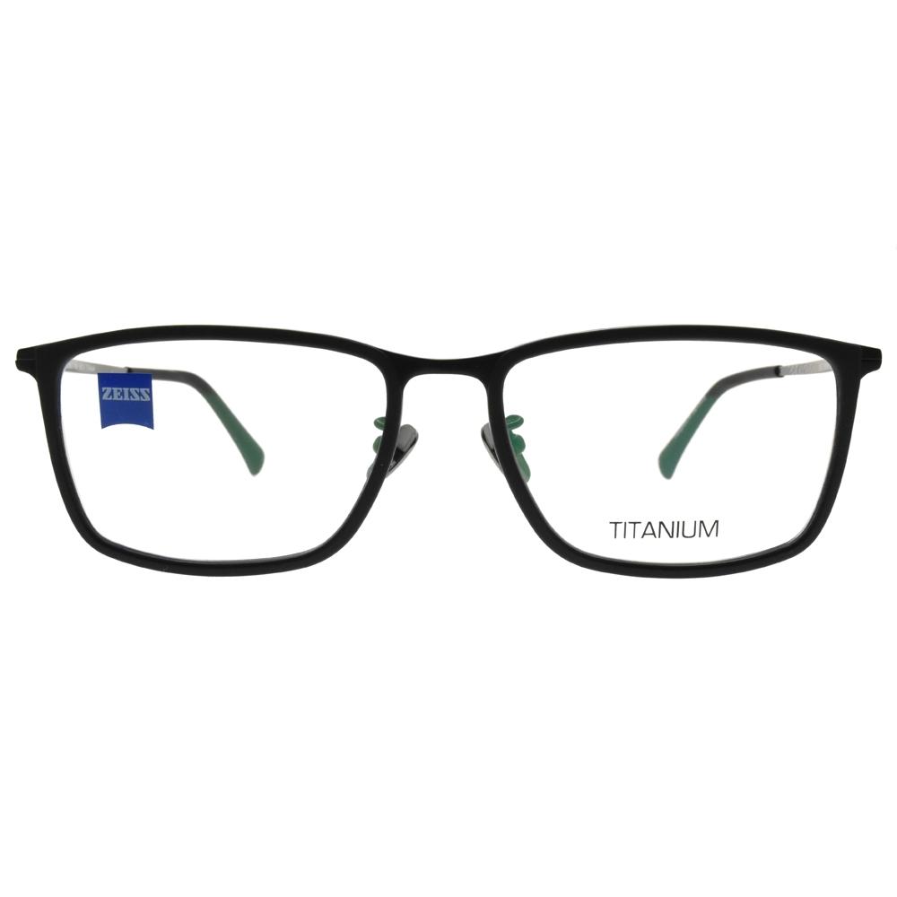 ZEISS蔡司眼鏡 經典方框款/霧黑 #ZS85017 C099