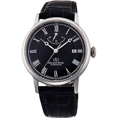 ORIENT STAR 東方之星 CLASSIC 羅馬機械錶-黑/38.7mm