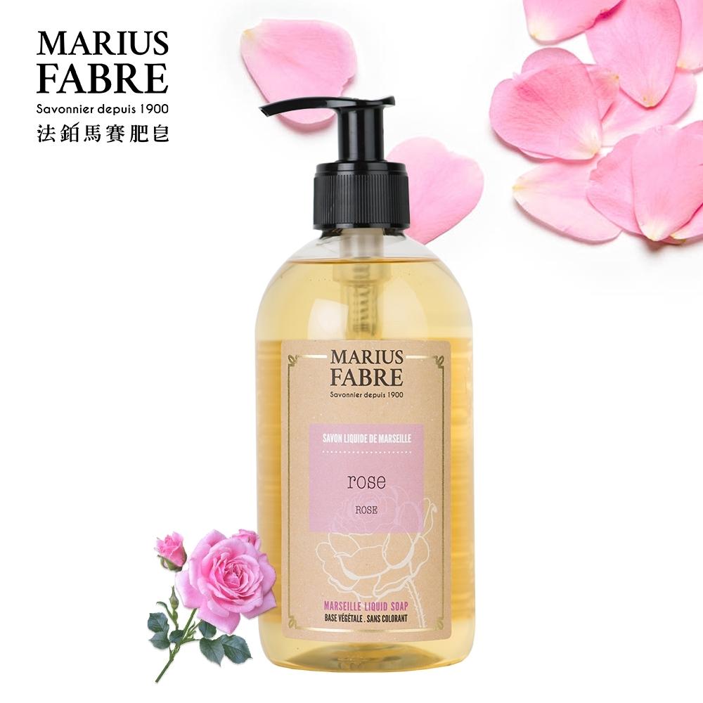 法國法鉑-法蘭西玫瑰草本液體皂-400ml-瓶