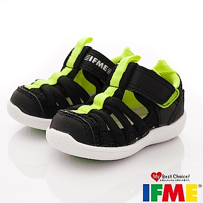 IFME健康機能鞋 輕量洞洞水鞋款 ZE10611黑(小童段)
