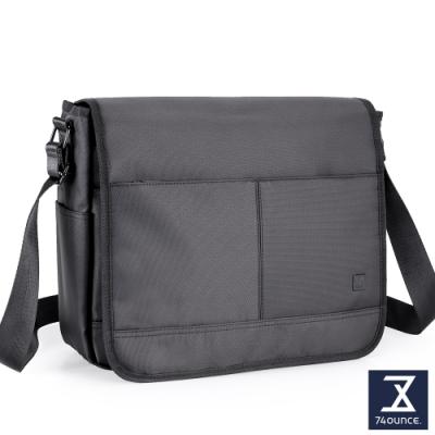 74盎司 U系列 掀蓋側背包[G-1045-U-M]黑