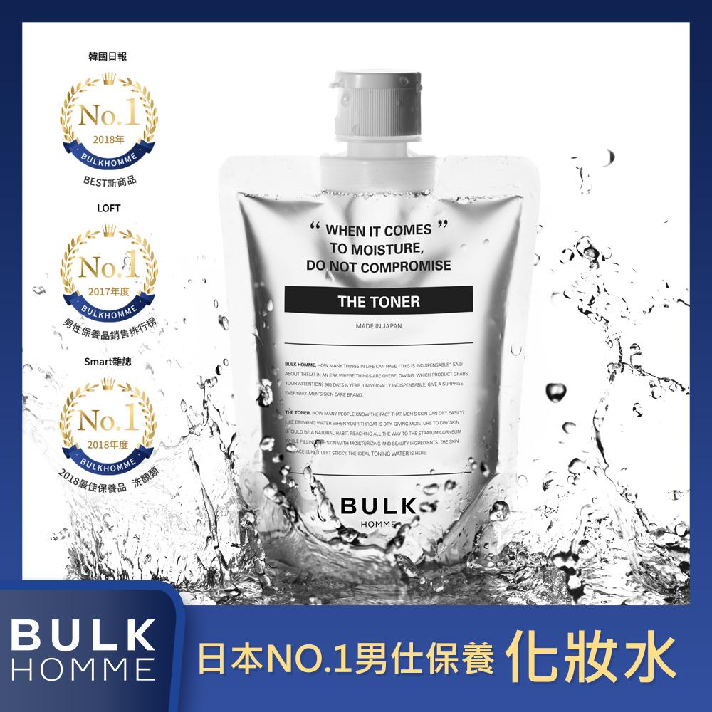 BULK HOMME 本客 日本男士保養 化妝水 THE TONER 200ml (清爽保濕)