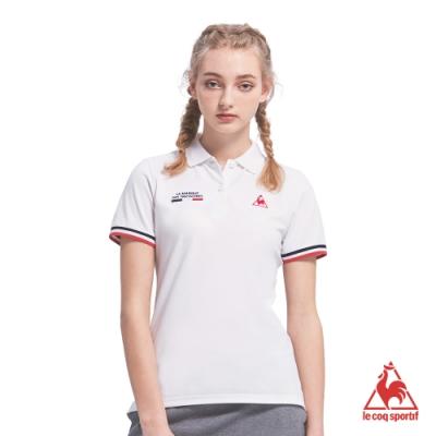 法國公雞牌短袖POLO衫 LOM2314290-女-白