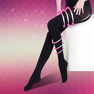 Incare高科技顯瘦280D提臀超魔塑褲襪不透膚款