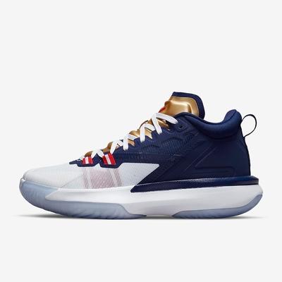 NIKE JORDAN ZION 1 PF 男籃球鞋-白藍-DA3129401