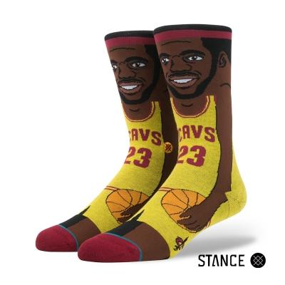 STANCE L. JAMES-男襪-NBA卡通襪