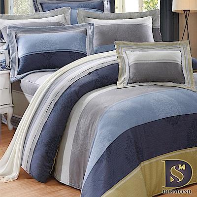 DESMOND岱思夢 特大100%天絲全鋪棉床包兩用被四件組 索思