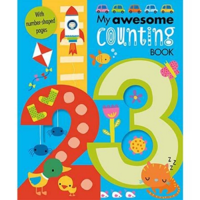 My Awesome Counting Book 我的數數趣味學習書