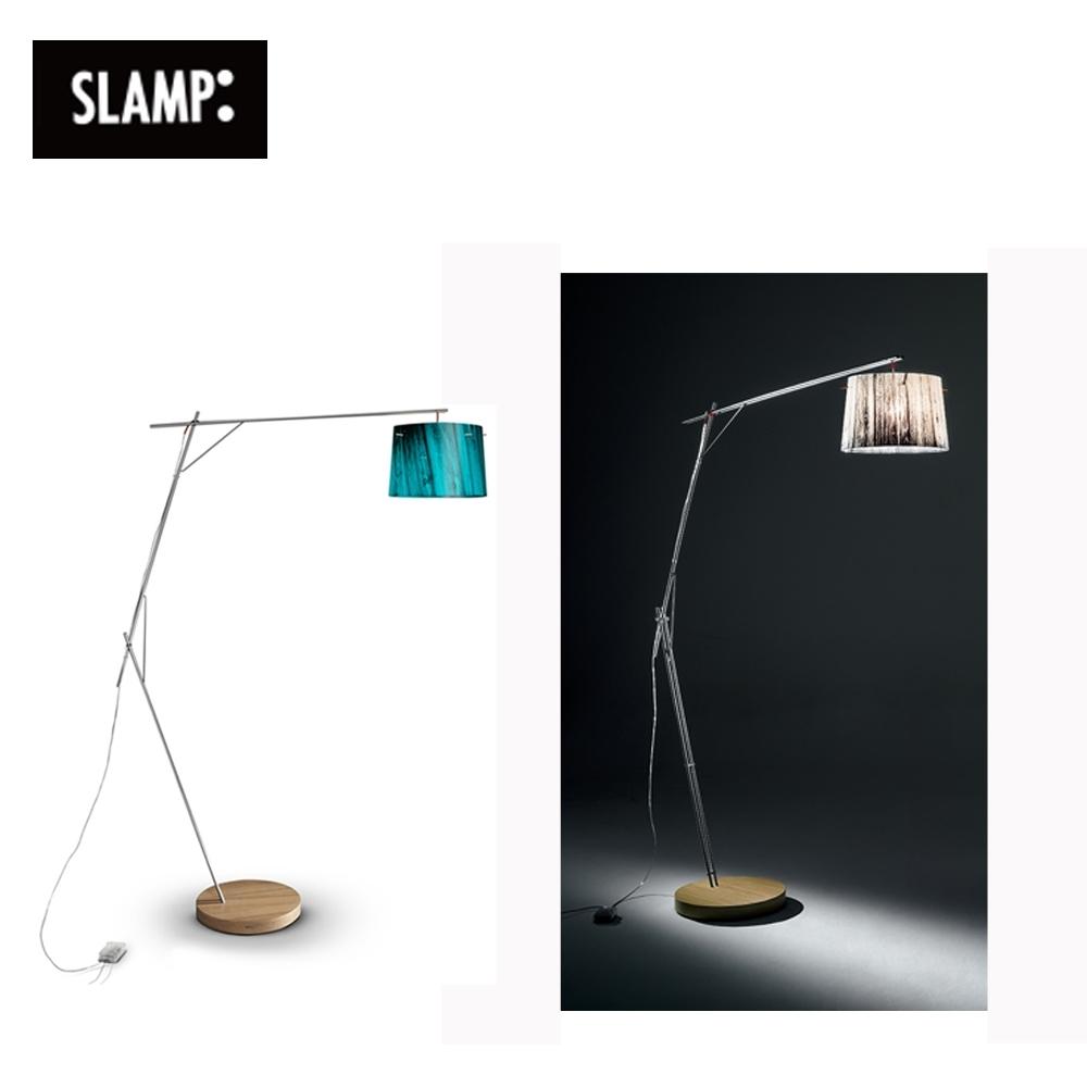 【SLAMP】WOODY 立燈(藍/白)