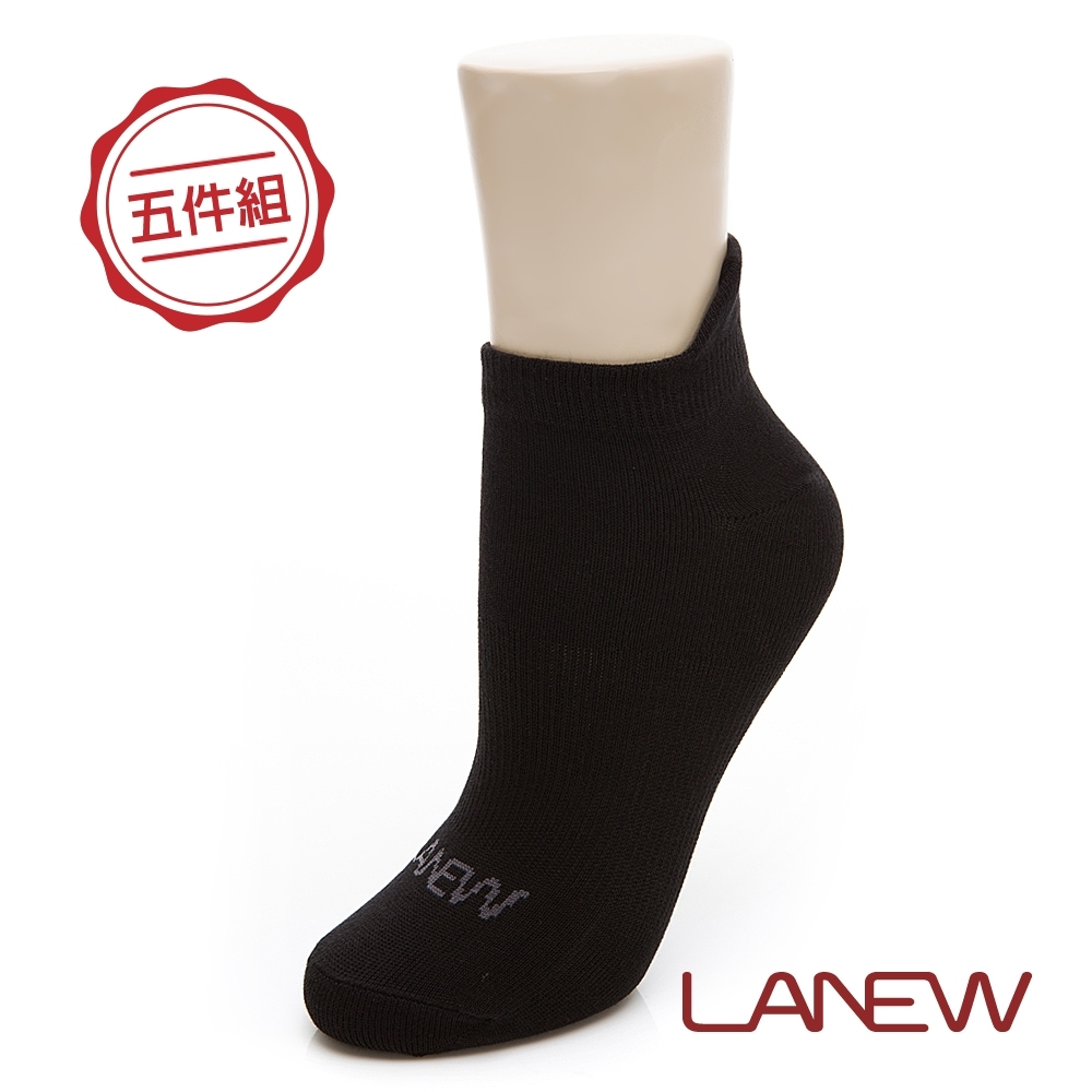 LA NEW 中性船型短襪五件組(298780293)