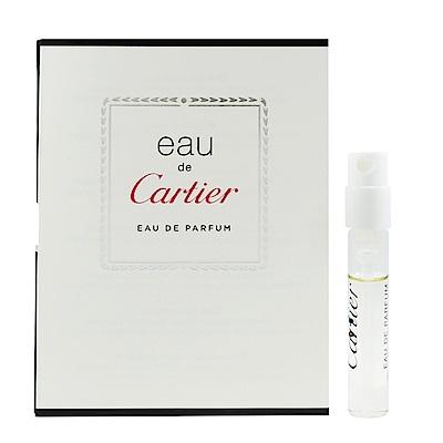 Cartier 卡地亞 心之水淡香精 針管小香 1.5ml
