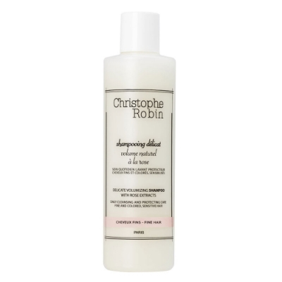 Christophe Robin 玫瑰豐盈護色洗髮乳250ml