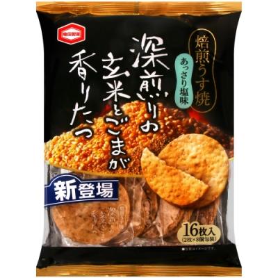 龜田 鹽味芝麻玄米米果(88g)