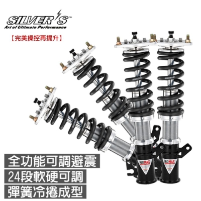 【SILVERS】西維斯 NEOMAX 避震器 (適用於福斯POLO 00年式-06年式)
