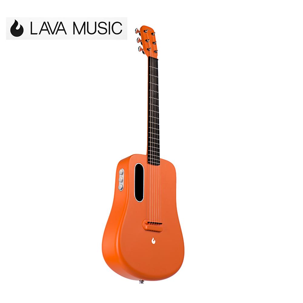 [無卡分期-12期] LAVA ME 2 L2 Freeboost 電民謠吉他 激光橙色款