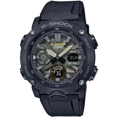 CASIO卡西歐 G-SHOCK 街頭軍事系列手錶(GA-2000SU-1A)