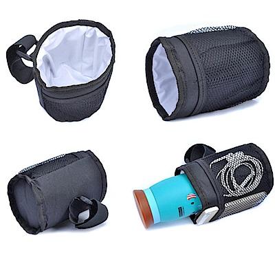 iSFun 戶外收納 嬰兒推車防水保溫杯架袋