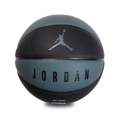 Nike 籃球 Jordan Ultimate 8P No.7 喬丹 飛人 標準7號球 室內外適用 藍綠 黑 J000264538-807