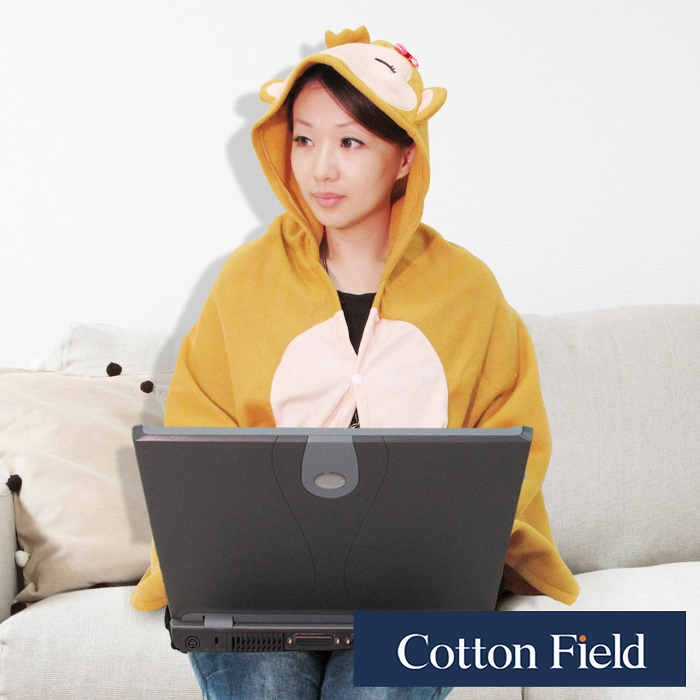 棉花田 美麗猴 造型多功能創意保暖毯(75x150cm) @ Y!購物