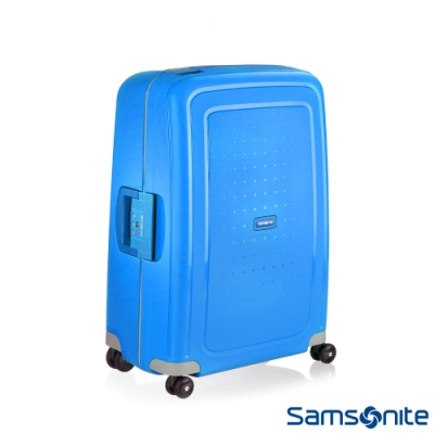Samsonite 新秀麗 28吋 S CURE 四輪 PP硬殼TSA扣鎖行李箱(海軍藍)