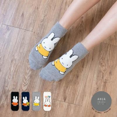阿華有事嗎  韓國襪子 立體毛毛米菲兔全身短襪 韓妞必備 正韓百搭純棉襪