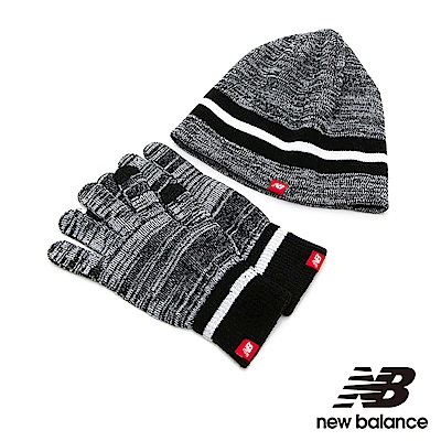 New Balance毛帽手套禮盒組 500342000  黑色