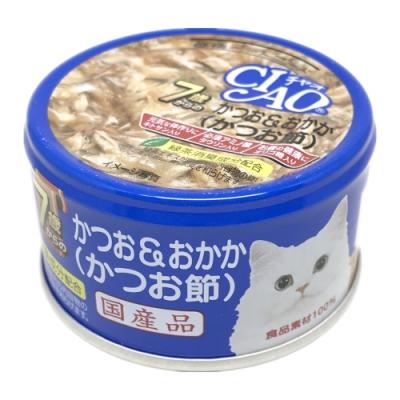日本 CIAO 旨定罐 M-32 7歲 鰹魚&柴魚 75g