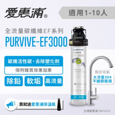 愛惠浦 EF series全流量強效碳纖維系列淨水器 EVERPURE PURVIVE-EF3000