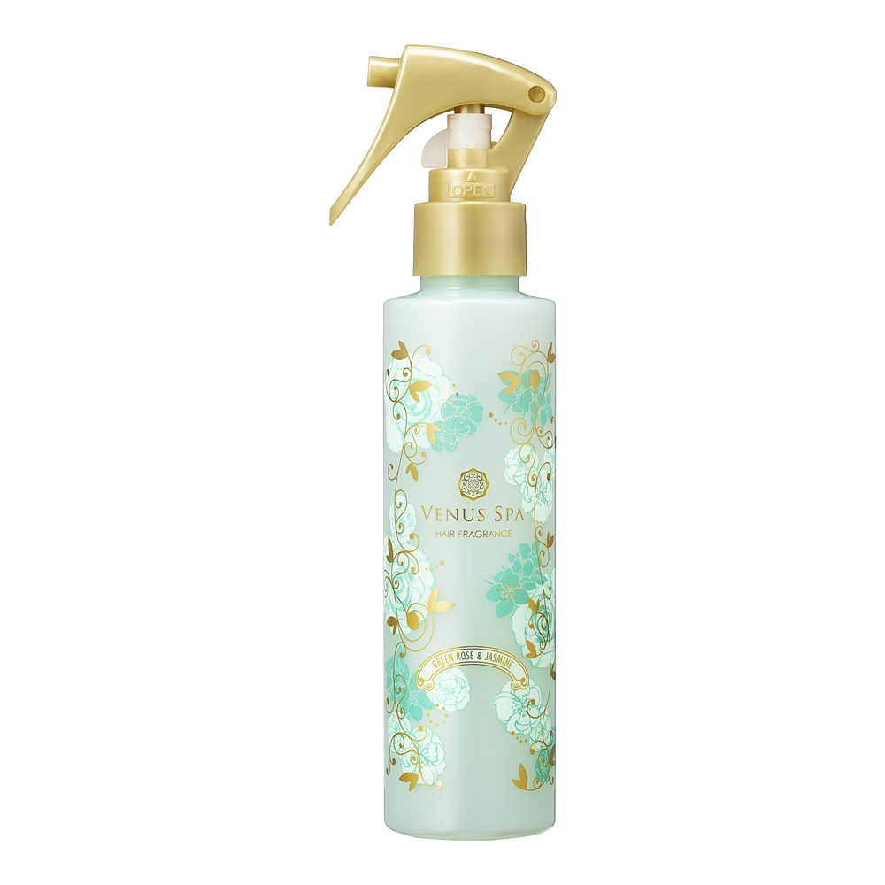 Venus SPA小心機髮香噴霧-綠玫瑰茉莉