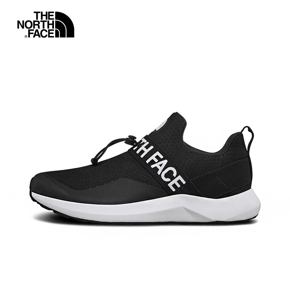 The North Face北面男款黑色輕便抓地休閒鞋|3UZEKX7