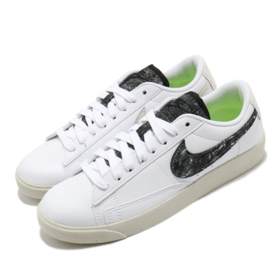 Nike 休閒鞋 Blazer Low SE 運動 女鞋 基本款 簡約 舒適 皮革 質感 穿搭 白 黑 DA4934100