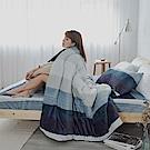 AmissU 北歐送暖法蘭絨暖暖被(150x200cm) 深夜之旅