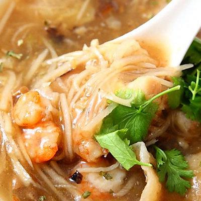 高興宴(大囍臨門)-台中特色鴻運干貝魚翅海鮮羹(1000±50g)