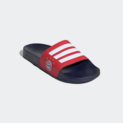 ADIDAS 拖鞋 運動 拜仁慕尼黑 男鞋 藍紅 FW7076 ADILETTE SHOWER