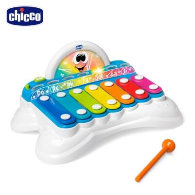 chicco-二合一聲光手敲琴