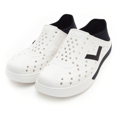 【PONY】ENJOY明星款洞洞鞋 踩後跟 拖鞋 雨鞋 男女19款