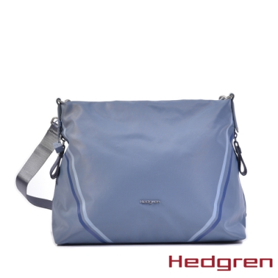 【Hedgren】粉藍運動休閒側肩包 – HBOO05 DRIVE