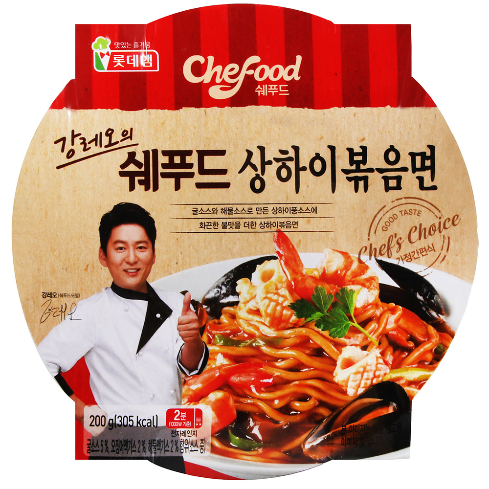 Lotte Food 名廚海鮮炒麵(200g)
