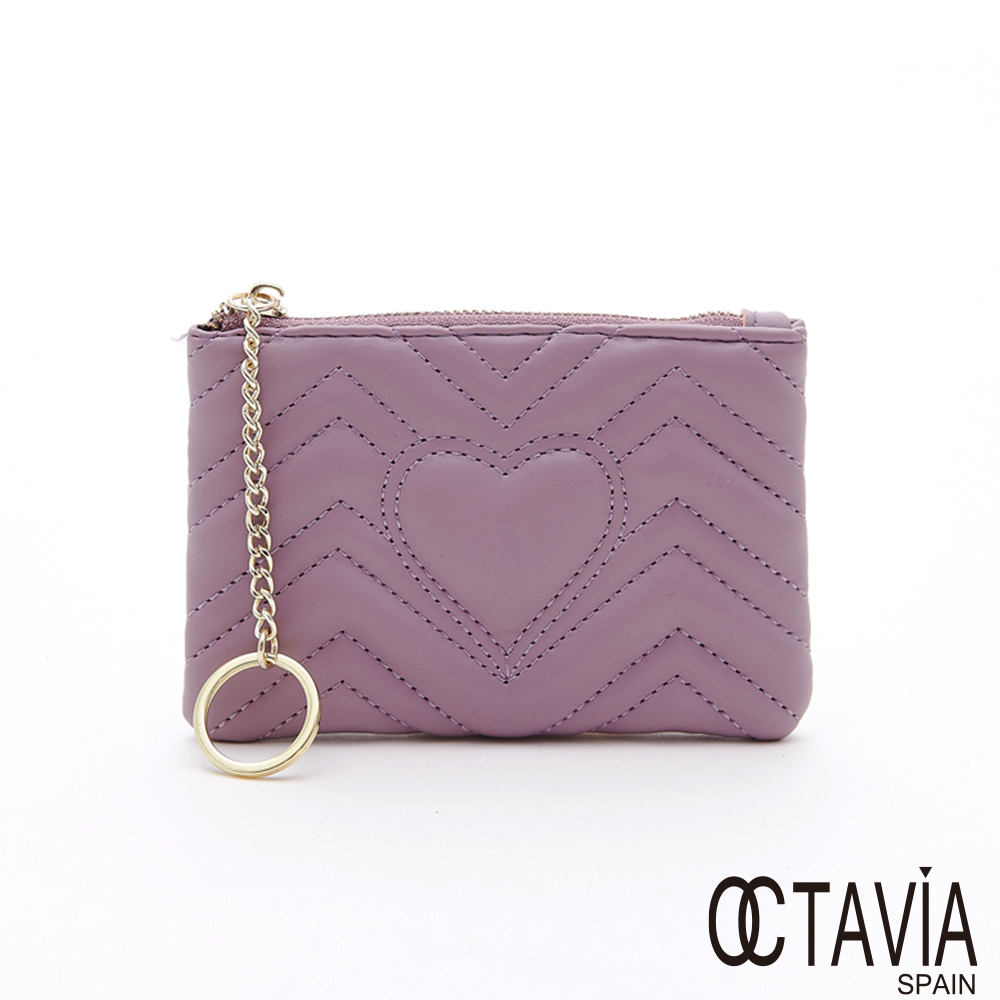 OCTAVIA8  - 愛心頻道 方塊萬用小錢包