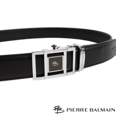 PB皮爾帕門 條方框中正紳士自動扣皮帶(708)