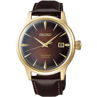 SEIKO 精工 Presage 調酒師限量機械錶-40.5mm(SRPD36J1)
